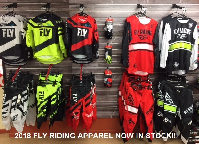2018 Fly Riding Apparel in-stock at Honda Suzuki of Sanford
