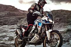 Image of a Honda Africa Twin Motorcycle